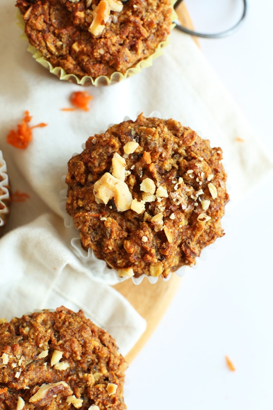 Easy-wholesome-Carrot-Walnut-Muffins-Just-ONE-bowl-required-vegan-glutenfree-